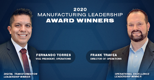 Manufacturing Leadership Award Winners